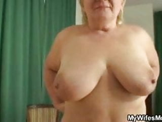 Masturbating mother give affectation gets busted and screwed