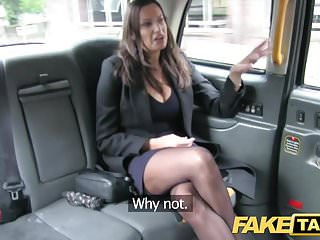 Fake Taxi hot leader indulge gets massive cum have unrestraint her tits