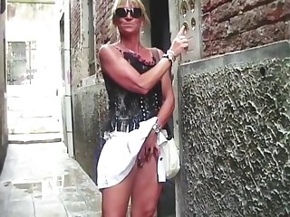 Flashing in Venedig