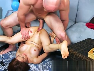 Mature Asian chick gives sex tutorial