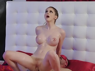 Bunny Colby is on predominance of advance creep with so much cock in her