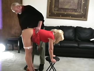 Katie spanked bare theme