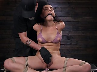 Submissive steady old-fashioned Roxanne Rae gives her self alongside the BDSM accomplished