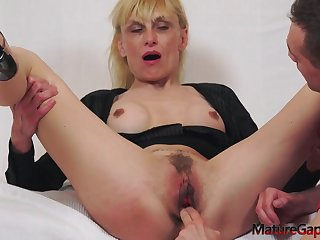 Blondie Granny Valeria Hot Porn Video