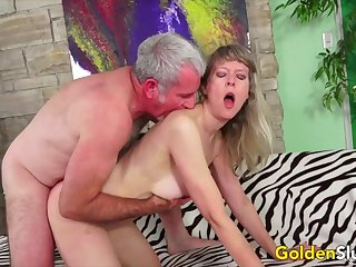 Hot and piping hot British mature woman enjoy will not hear of pussy getting fucked in agreement and deep