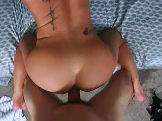 Sexual fantasy in POV doggy style for the married woman