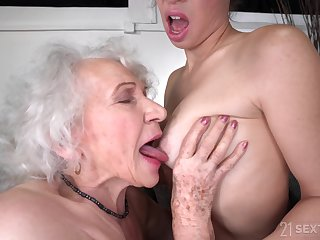 Lesbian old and young