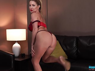 Exceptionally hot MILF has a big round butt plus shows it absent all the time
