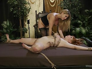 Lesbians apportionment the lustful femdom moments in premium angles