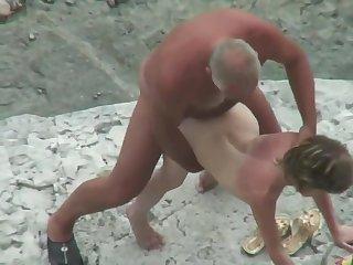 Beach sexual intercourse