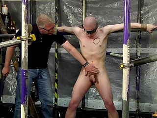 Cock increased by hoof it torture with kinky joyful lovers Sebastian Kane increased by Oliver Wyatt