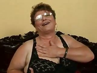 This granny is an affecting woman and she loves to get fucked by younger men