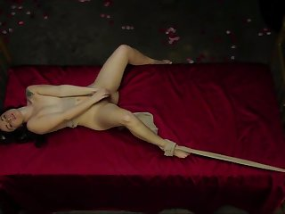 Diana Kolentsova (aida in etvshow) bulgarian nude on bed