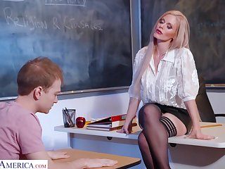 Russian sex bomb Casca Akashova is teaching her favorite student no matter what to satisfy girls