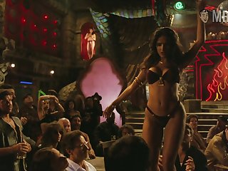 Salma Hayek's table dance from Dusk till Dawn is X and erotic