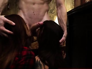 Latex bondage slave and big booty punished Rattled young