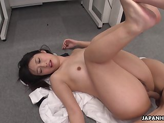 Hot Asian girl Tomomi Motozawa loves some mish fuck with the addition of she's got a nice ass