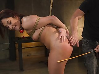 Rough fucking from bankrupt and spanking be expeditious for cute Isabella Nice