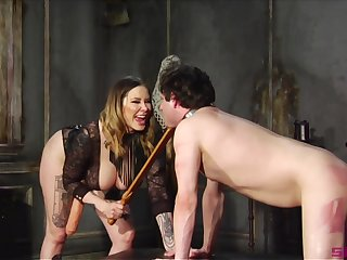 Maitresse Madeline Marlowe is a Domme you don't scarcity near fuck with