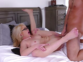 Pure missionary and doggy for the mature in a nice ass