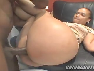Big irritant ebony Mayas gets fucked hard