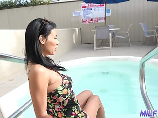 Hot single milf doesn't mind fucking with young nextdoor defy