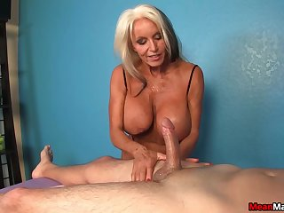 Hot mature mill the young dick like a goddess