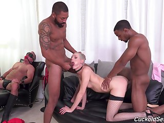 Sidra Sage is a mistress who craves more than several dick at once