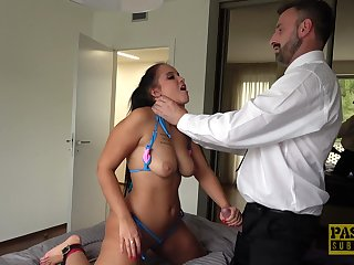 Horny dude anent a large unearth enjoys fucking cock-a-hoop right side for Jennifer