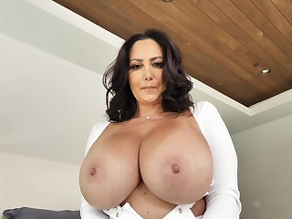 Mom prevalent jumbo tits, insane home XXX prevalent step son