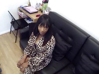 Black woman Fake Cop