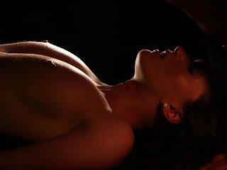 Cock hungry model Antonia Sainz enjoys having romantic sex